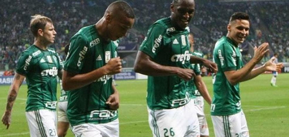 Deyverson marca su primer gol con el Palmeiras