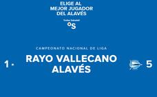 Concurso: elige al mejor jugador del Alavés