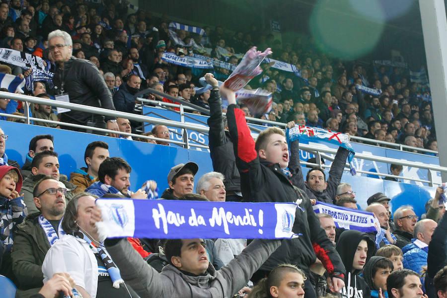Mendizorroza vibra en el último partido de la temporada en Vitoria