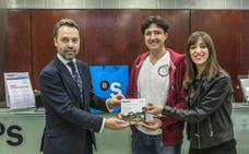 Andoni San Vicente, ganador del sorteo 'El mejor jugador del Alavés'