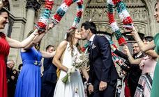 Las fotos de la boda de Manu García y Noelia