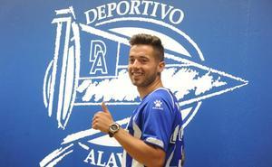Jony Rodríguez: «Al Alavés no le costó mucho convencerme»