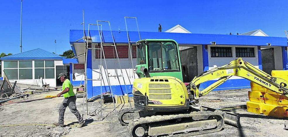 El Ayuntamiento paraliza las obras de reforma de Ibaia al carecer de licencia