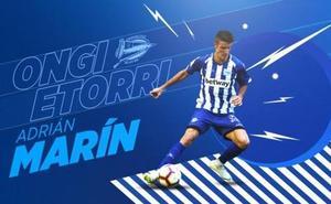 El Alavés ficha por tres temporadas al lateral zurdo Adrián Marín