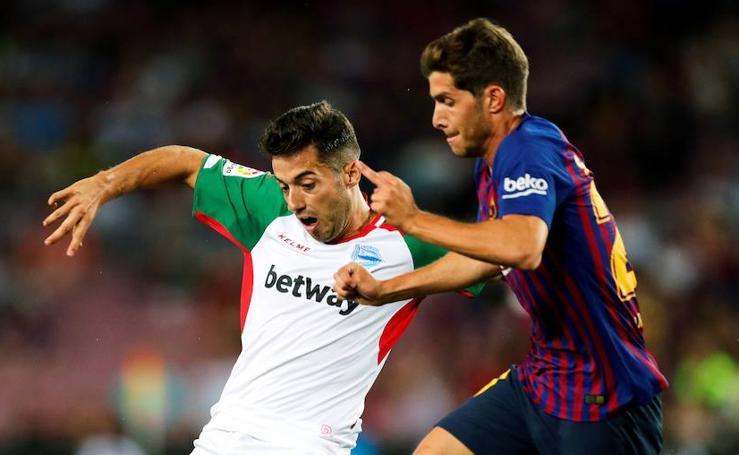 Las mejores fotos del Fútbol Club Barcelona - Deportivo Alavés