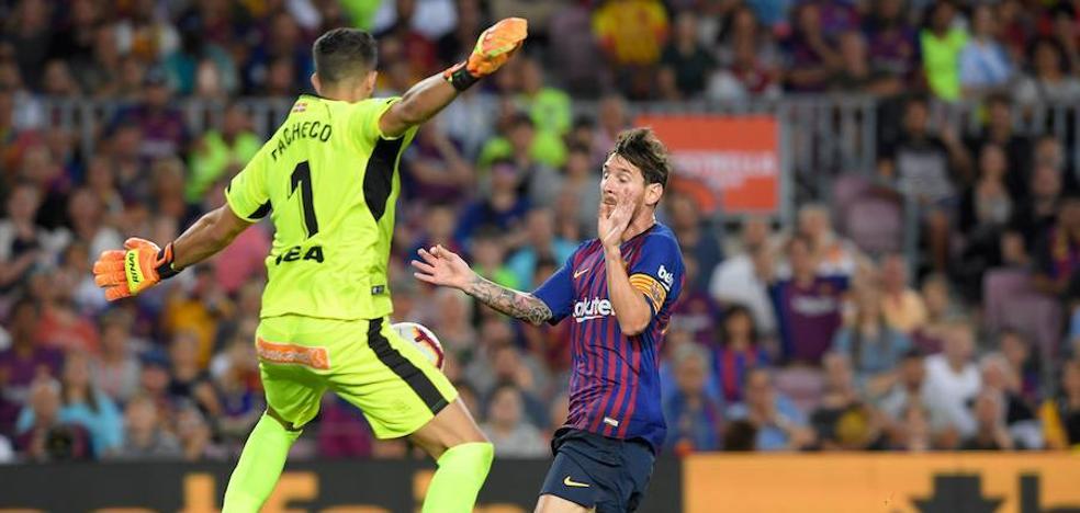 Pacheco: «Toca levantarse y pensar en el próximo partido»