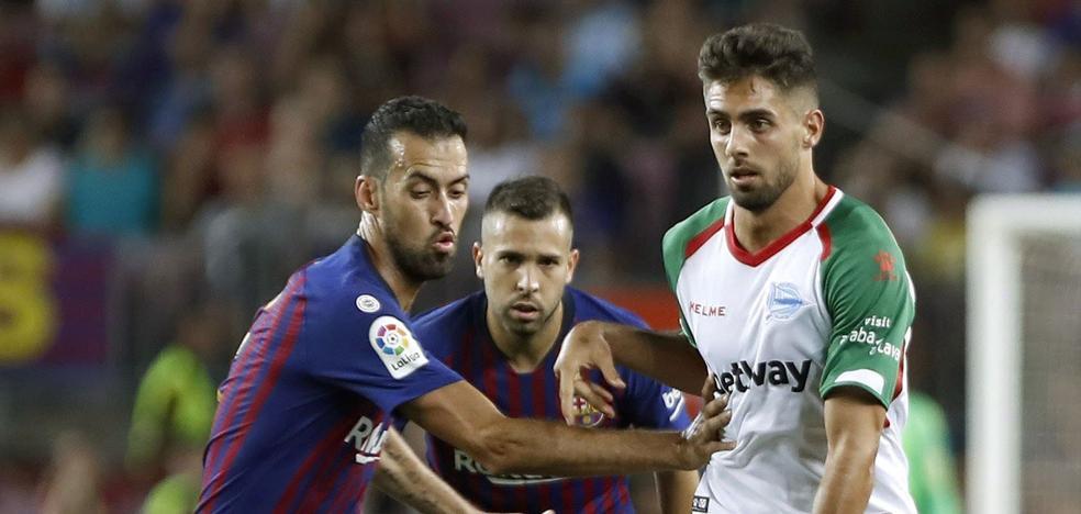 El Alavés vuelve a los dos delanteros