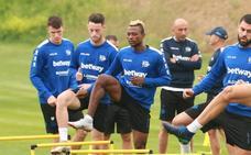 Burgui prefiere jugar en Vallecas «porque el ambiente nos motiva»