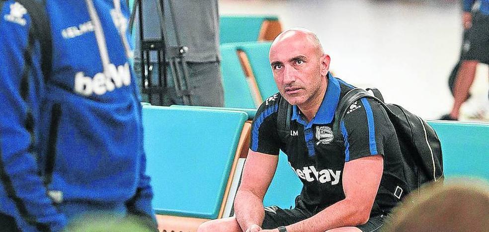 Abelardo subraya que el objetivo del Alavés «es la 'Permanencia League'»
