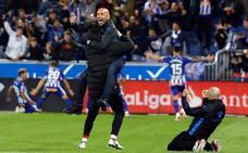 Abelardo: «Ha sido un partidazo, la victoria soñada»