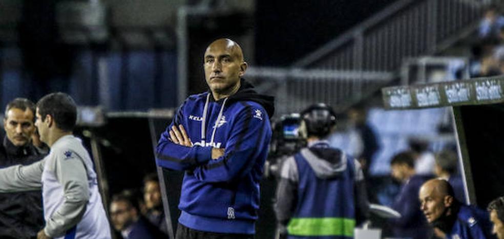 Abelardo: «El partido ha estado controlado, el equipo está haciendo las cosas bien»
