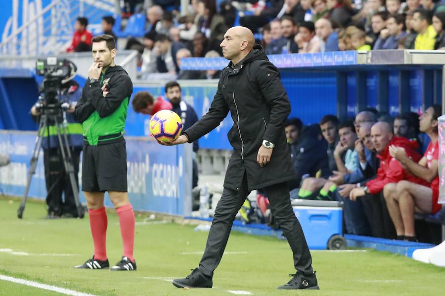 Abelardo: «Me encanta estar arriba, pero hay que seguir con la misma humildad»