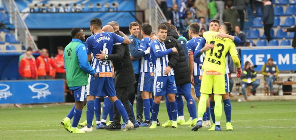 El Alavés se sitúa tercero y acabará la jornada en Champions