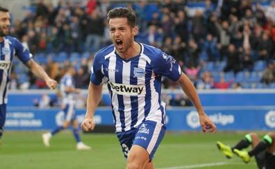 Jony se estrena como goleador del Alavés