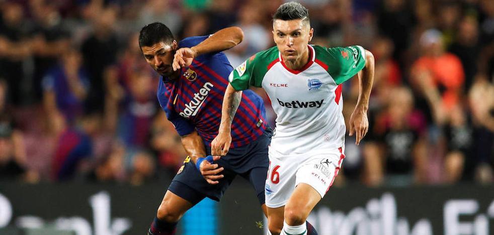 El Alavés busca una salida para Torres en Colombia