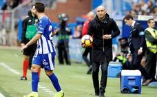 Abelardo: «Me gustaría que alguno de mis jugadores fuera a la selección»