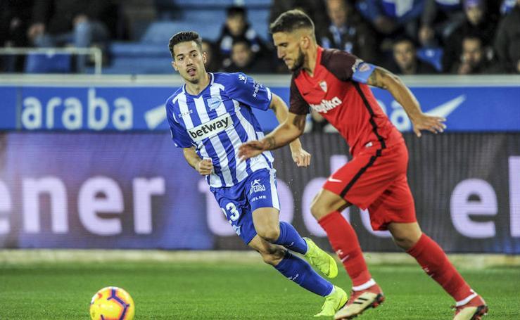 Las mejores fotos del Alavés - Sevilla