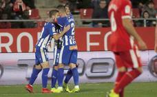 Vídeo con el resumen y los goles del Girona - Alavés