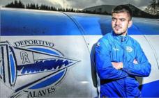 Martín: «Me gustaría hacer una gran carrera en el Alavés»