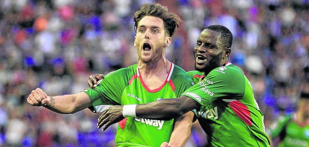 El Alavés ofrece a Ibai Gómez una renovación por tres años