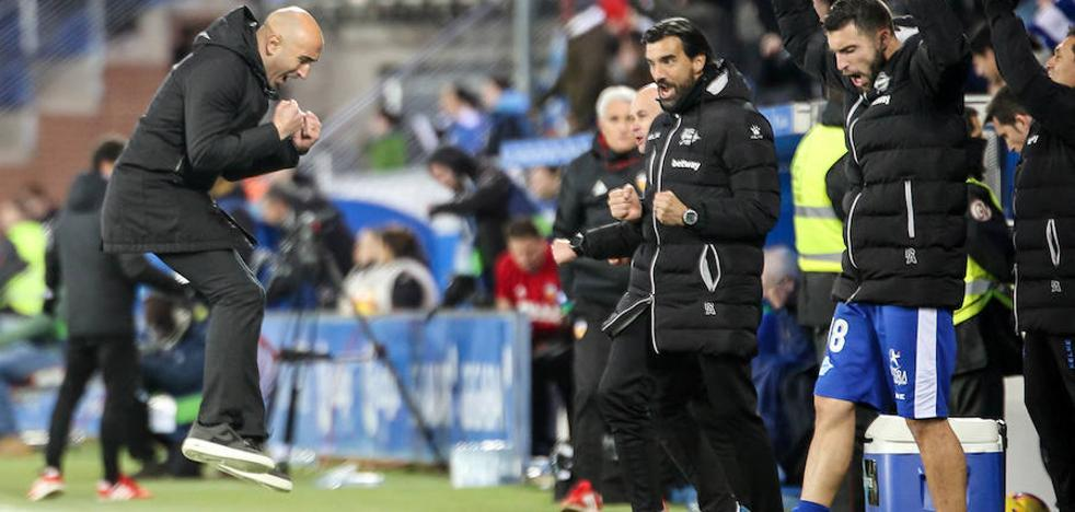 Abelardo: «A partir de su gol hemos hecho un partidazo, remontar no es fácil»