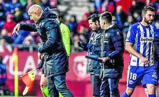 Abelardo: «El equipo ha hecho un partido serio, hemos generado fútbol»
