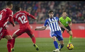 Resumen y goles del Girona - Alavés