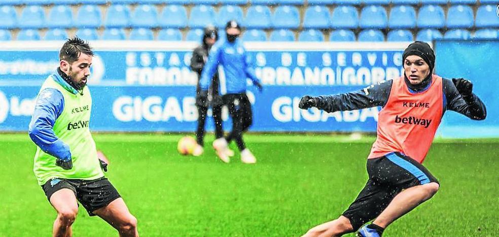Jony vuelve a entrenar tras dos semanas ausente por la lesión