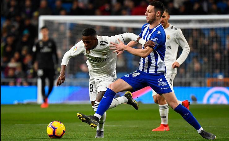 Las mejores fotos del Real Madrid - Alavés