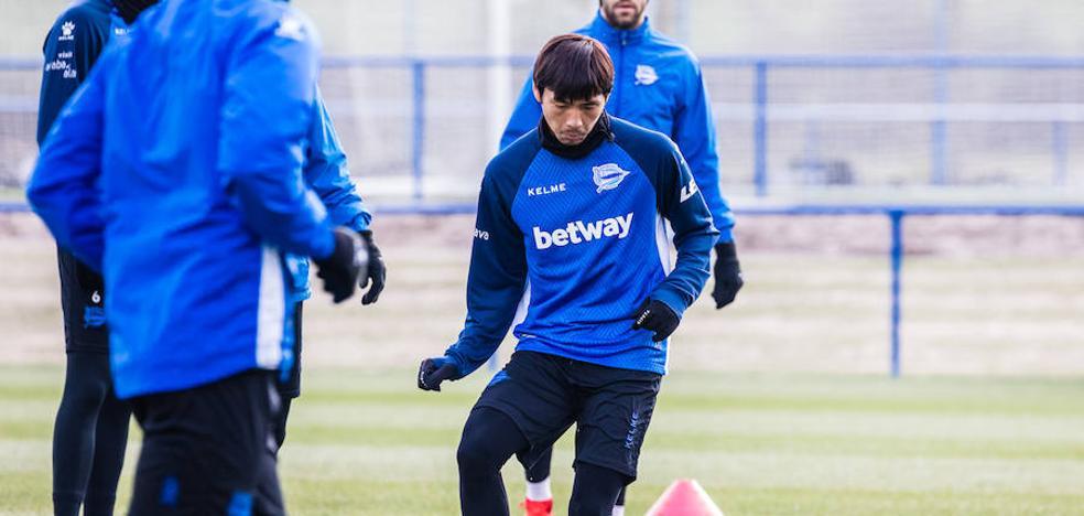 Inui: «Me da igual en qué banda, yo quiero jugar y ayudar al equipo»