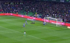 Resumen y goles del Betis - Alavés