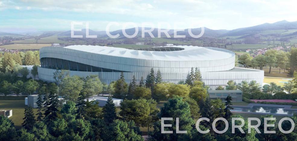 El nuevo Mendizorroza será ondulado y tendrá 27.070 asientos
