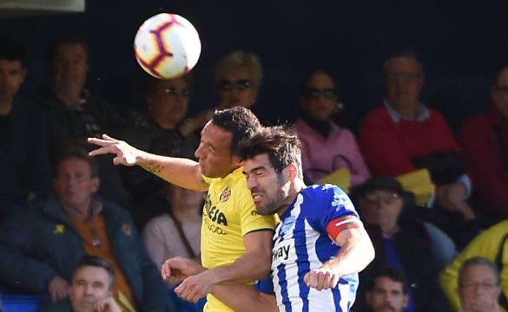 El Villarreal - Alavés, en imágenes