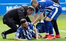 Duarte se retira tras sufrir un corte en su pierna izquierda