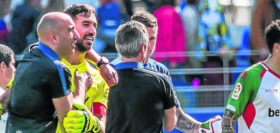Abelardo: «El Alavés es un equipo que no se rinde»