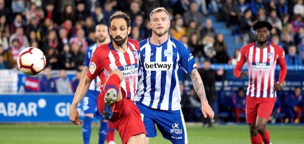 El uno a uno del Alavés - Atlético de Madrid