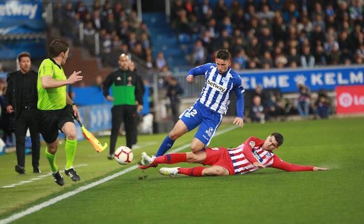 Las fotos del Alavés - Atlético