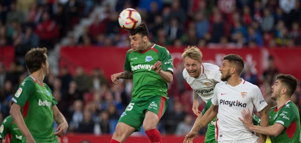El uno a uno del Sevilla - Alavés