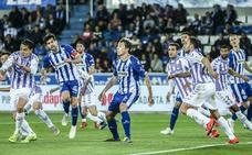 El uno a uno del Alavés - Valladolid