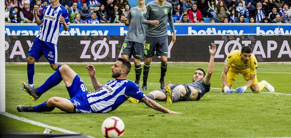 El uno a uno del Alavés - Real Sociedad
