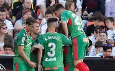 Vídeos de los goles y el resumen del Valencia - Alavés
