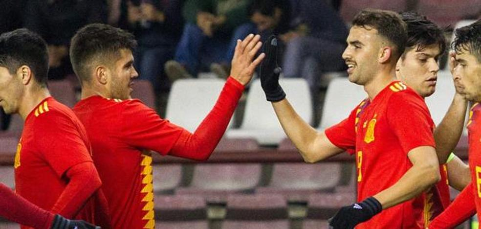 El alavesista Martín entra en la primera lista de De La Fuente para el Europeo sub'21 de Italia y San Marino