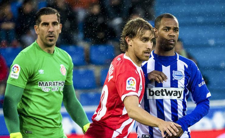 Las mejores imágenes del partido entre el Alavés y el Girona