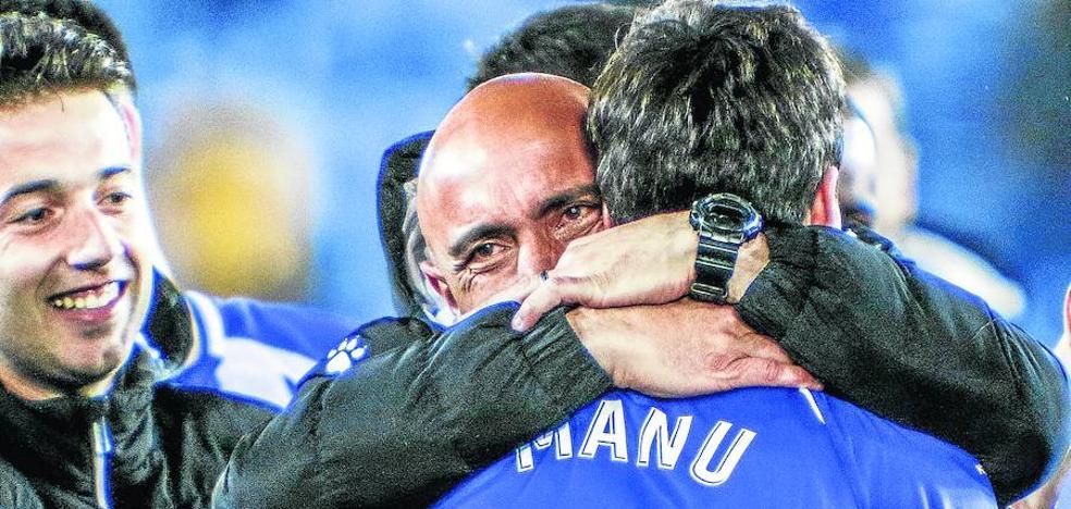 Abelardo: «Sólo puedo dar las gracias»