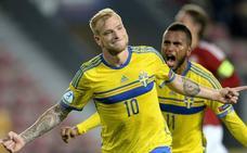 Guidetti vuelve a la lista de Suecia para el partido contra España