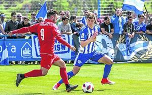 El Alavés B persigue su pase a la final