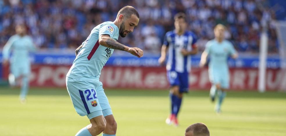 Aleix Vidal llegará al Alavés cedido por el Sevilla