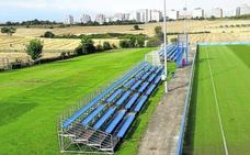 El Alavés instala en Ibaia una grada para 600 aficionados