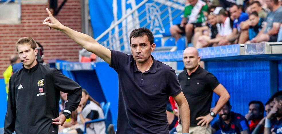 Garitano: «Marcamos, sufrimos y un portero inspirado nos dio los tres puntos»