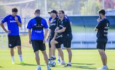 El Alavés prepara en Ibaia, ya sin Maripán, el próximo partido de Liga ante el Espanyol